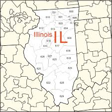 map usa illinois usa zip code and state maps from illinois to missouri