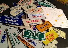 License Plate Usa Map by License Plates Galore Speech Room News