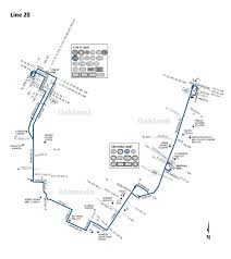 San Jose Bus Routes Map by 20 Bus Route Ac Transit Sf Bay Transit