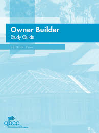 owner builder study guide occupational safety and health