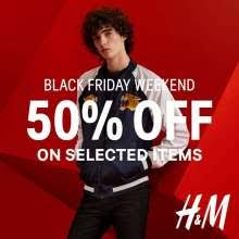 h m black friday hmblackfriday weekend get 50 off on selected items deals