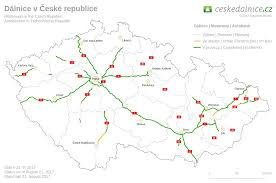 Map Of Czech Republic Czech Motorways U003e Homepage