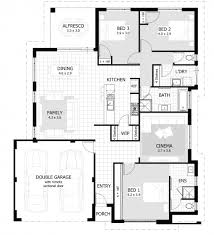 single floor home plans fascinating 100 3 bedroom house plans one single floor home