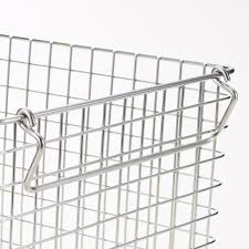 18 8 stainless wire basket 4 w14 6
