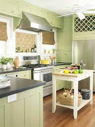 Green Kitchen Cabinets About Fresh Green Kitchen Cabinets Ideas With Paint Colors For