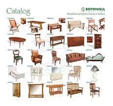 living room furniture names