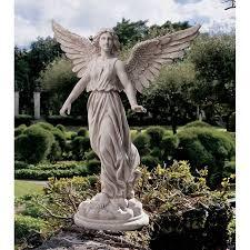 design toscano of patience garden statue walmart