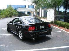 2001 Black Mustang Mustang Cobra Car Art Illustration By Yourautoart Com Ford
