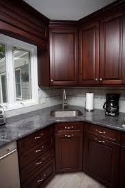 Kitchen Cabinets New Brunswick Bordeaux And Sable Glaze Kitchen Brielle New Jersey By Design Line