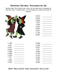 92 best decimals images on pinterest ordering decimals decimal