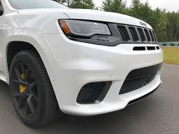 trackhawk jeep 2018 jeep grand cherokee trackhawk test drive review autonation