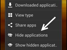 how to hide an app android how to hide any app in any android phone