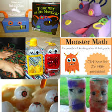 mom to 2 posh lil divas monster themed activities for kids the