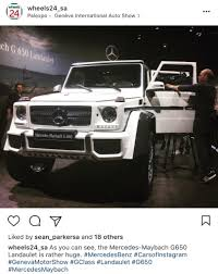 maybach landaulet 2018 mercedes benz g650 maybach landaulet page 2