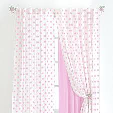 Polka Dot Curtains Pink And White Bedroom Curtains Pink Polka Dot Curtains Best
