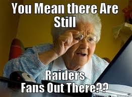 Funny Raiders Meme - raiders jab quickmeme