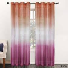 Ombre Sheer Curtains Pink Ombre Sheer Curtains For Less Overstock