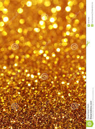 Sparkle Christmas Lights by Yellow Orange Gold Soft Lights Background Vertical Stock Photo