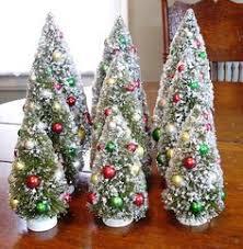 vintage bottlebrush tree luv christmas crafts u0026 decor