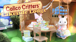 Calico Critters Play Table by Unbox Daily Calico Critters Lakeside Lodge Gift Set Mini