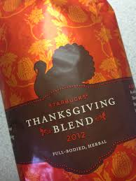 starbucks thanksgiving blend is mikeszone