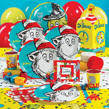 dr seuss party supplies birthdayexpress hosts dr seuss 75 years of imagination