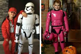 hero dad painstakingly creates custom pink stormtrooper for