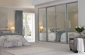 Large Closet Doors Modern Large Bedroom Closet Door With Mirrors Of Captivating
