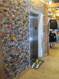 art of board wall surface inside k coast surf shop ocean city md