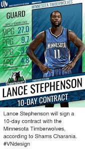 Lance Stephenson Meme - timberwolves minnesota inage courtesy of vn design guard 201617