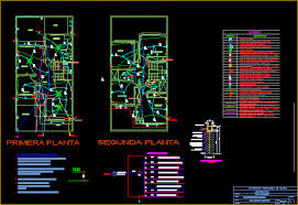 one family housing 2 levels wiring plan diagram and calcs dwg
