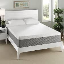 Orthopedic Gel Foam Mattress Topper Bedroom Dark Pergo Flooring With Beige Tufted Bed And Gel Foam