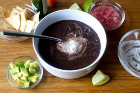 black bean soup toasted cumin seed crema – smitten kitchen