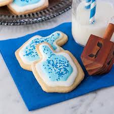 iced hanukkah sugar cookies gluten free