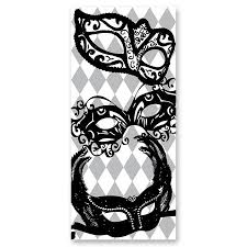 black and white mardi gras masks black and white mural mardi gras masks prom nite