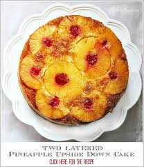 turning pineapple upside down cake upside down at the picket fence
