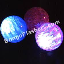 balls with lights led balls bongo