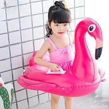 siege gonflable bébé licorne bébé flamingo enfants licorne bouée trainer eau flotteur de