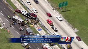 Orlando Traffic Map by 2 Killed 2 Injured In Crash On Florida U0027s Turnpike