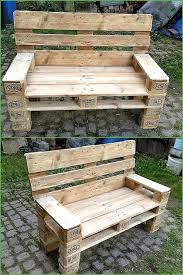 15 Unique Pallet Picnic Table 101 Pallets by Ideas To Give Wood Pallets Second Life Pallets Bench And Pallet