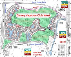 Caribbean Beach Resort Disney Map by Four Dvc Resorts That Might Have Been Dvcinfo Com