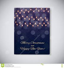 book cover template abstract beauty merry christmas and new yea