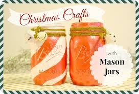 christmas crafts with mason jars
