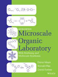 microscale organic laboratory 6 edition dana mayo
