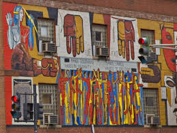 a guide to 51 neighborhood murals you must see right now 43 ue hall mural