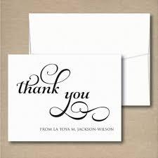 wedding thank you note easy wedding thank you card wording