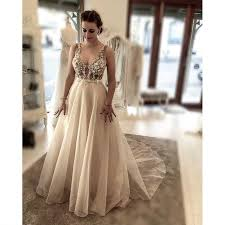 mzyk89 mermaid beaded gold lace appliques wedding dress