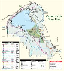 State Park Map by Cherry Creek State Park Outthere Colorado