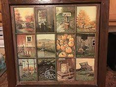 homco home interior vintage home interior homco b mitchell window pane picture rustic