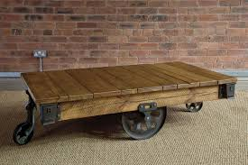 reclaimed wood coffee table with wheels furniture classic rectangle reclaimed wood coffee table decor